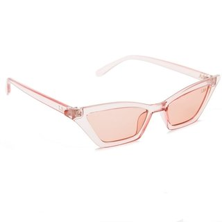 ÓCULOS RETRO COACHELLA TRANSPARENTE ROSE