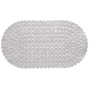 Tapete de Box Aqua-Spa Oval Diamante - 67cm x 37cm - Incolor - Colorful Bella Casa