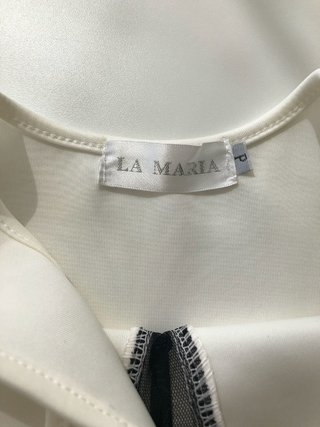 Regata Off White Neoprene La Maria