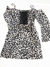 Vestido Animal Print Costume
