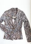 Blazer Jeans Animal Print Limelight