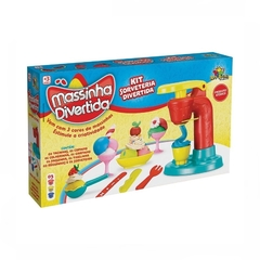 Sorveteria Divertida com Massinhas - Art brink - comprar online
