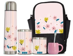 Set Matero Completo Sweet Flowers