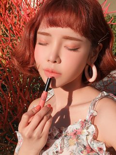 3CE - SLIM VELVET LIP COLOR #PEACH PLAY - JuliJuli Beauty K-shop
