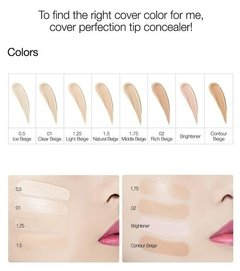 THESAEM - Cover Perfection Tip Concealer - 6.5g - tienda online