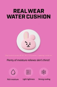 VT COSMETICS x BT21 - Real Wear Cushion WATER COOKY