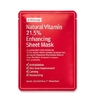 By Wishtrend - Natural Vitamin 21.5 Enhancing Sheet Mask 1u. 23ml