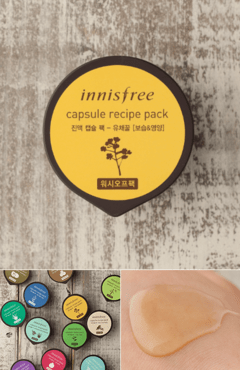 Capsule recipe pack - Canola Honey 10ml - Wash-off pack - comprar online