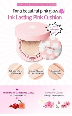 Peripera - Ink Lasting Pink Cushion SPF50+ PA+++[#02 Pink Beige] - comprar online