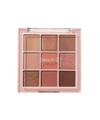 Peach C - Soft Mood Eyeshadow Palette - Soft Coral