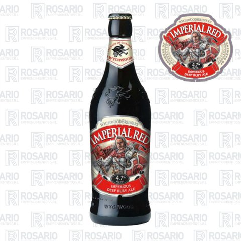 Wychwood Imperial Red.  Botella 500cc.  Pack x 8 Unidades