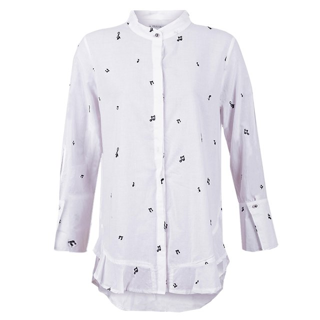 CAMISA DELPHINE - 7414 MUJER PRUSSIA