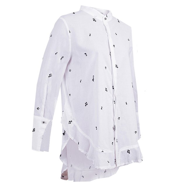 CAMISA DELPHINE - 7414 MUJER PRUSSIA - comprar online