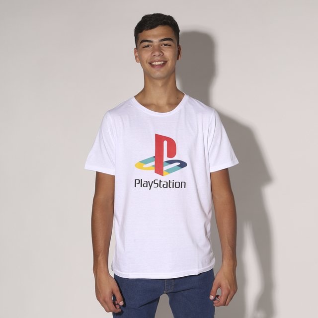REMERA PLAYSTATION - H0705 HOMBRE PRUSSIA en internet