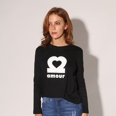 REMERA AMOUR - R0716 MUJER PRUSSIA - comprar online