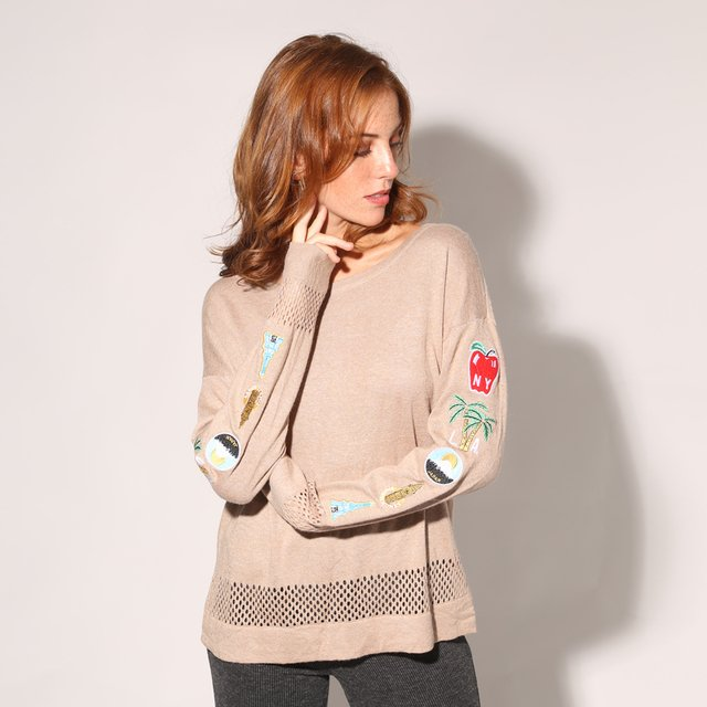 SWEATER PETER GABRIEL - S0858 MUJER PRUSSIA - comprar online