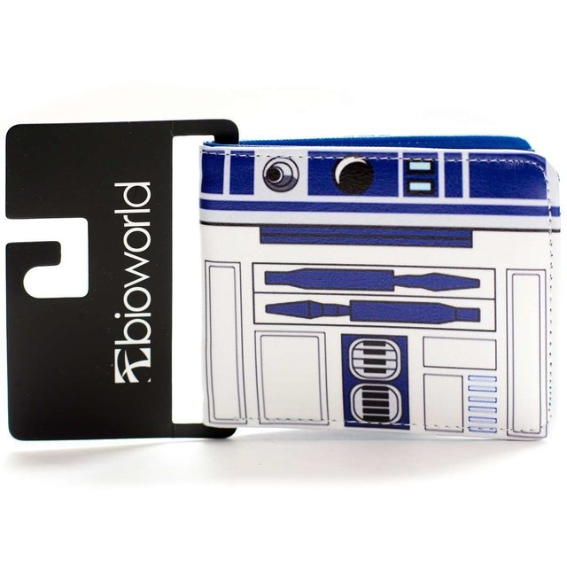 revisa f8f60 1c323 Billetera | Star Wars R2D2