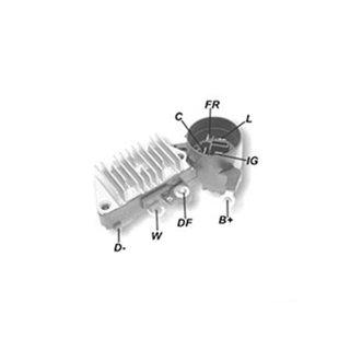 Regulador Voltagem Alternador CIVIC PRELUDE - IK5843