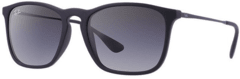 Ray Ban Chris rb4187 622/8g negro/gris degradé