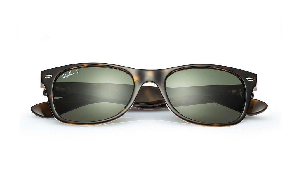 37851fb015acb Ray Ban 2132 New Wayfarer Carey Verde Oscuro G15 Polarizado Originales  Italianos. Garantía