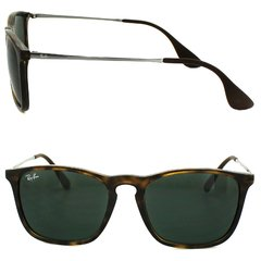 Ray Ban Chris 4187 Carey-Verde Oscuro G15 Originales Made in Italy - comprar online