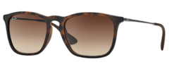 Ray Ban Chris rb4187 865/13 carey/marrón degrade