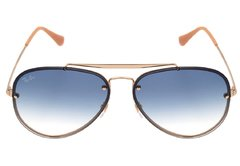 Ray Ban Aviator Blaze rb3584N 001/19 dorado/Azul degradé en internet