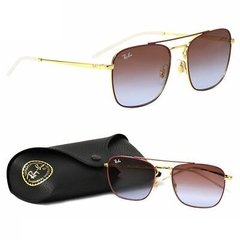 Ray Ban highstreet RB3588 Dorado-Bordo/Violeta degradé - comprar online