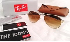 Ray Ban Tech 8307 Dorado/Marrón Degradé