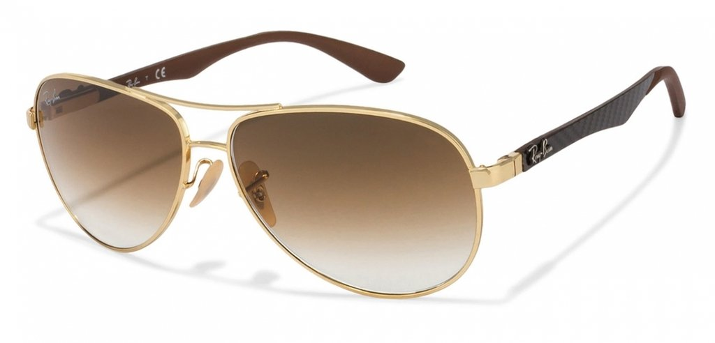 Ray Ban Tech 8301 Dorado Marrón Degradé Originales Italianos. Garantía.  Color  DORADO MARRÓN DEGRADÉ 4b04ec46b5
