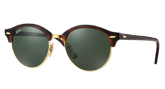 Ray Ban Clubround 4246 Carey/G15 Originales Made in Italy