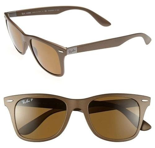Ray Ban 4195 Wayfarer Liteforce Marrón Polarizado Originales Italianos.  Garantía. Color  MARRÓN MARRÓN POLARIZADO d01ff2c968