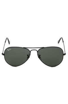 Ray Ban Aviator rb3025 L2823 negro/verde oscuro g15 - comprar online