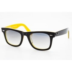 Ray Ban 2140 Rareprint Negro-Interior Amarillo/Gris Degradé Originales Italianos. Garantía
