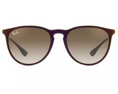 Ray Ban Erika 4171 Negro/Marrón Degradé Originales Italianos - comprar online