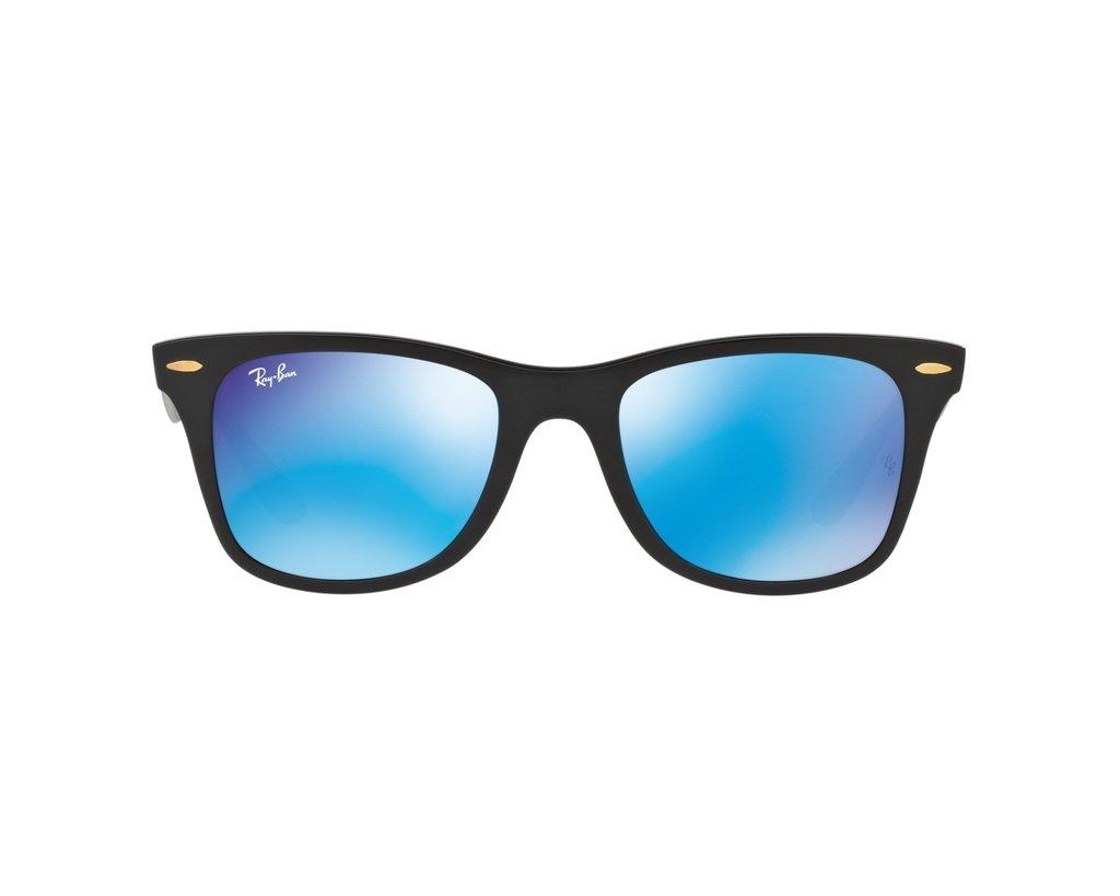 c0cb81a242 Ray Ban 4195 Wayfarer Liteforce Azul Espejado Originales Italianos. Garantía