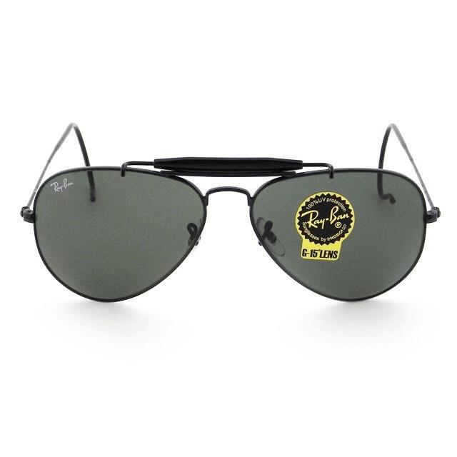 5a6f43989 Ray Ban Aviador 3030 Negro Originales Made in Italy