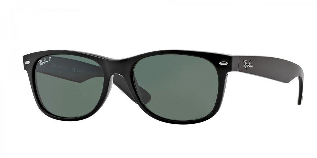 6c4d828937692 Ray Ban New Wayfarer 2132 Negro Verde Oscuro G15 Polarizado Originales  Italianos. Garantía. Color  NEGRO VERDE OSCURO G15 POLARIZADO