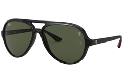 Ray Ban Cats Ferrari Rb4125M F601/31 Negro/Verde Oscuro G15