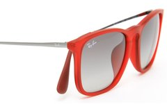 Ray Ban Chris rb4187 898/11 Rojo/rosa degradé en internet