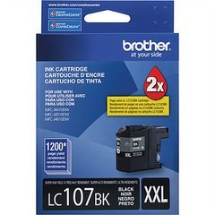 Cart inkjet ori Brother LC107BK XXL