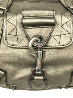 Dior -  Bolsa Rebelle Metalic Leather - loja online
