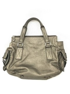 Dior -  Bolsa Rebelle Metalic Leather - comprar online