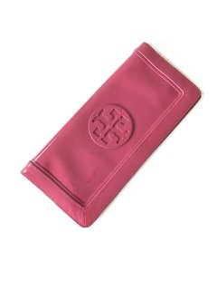 Tory Burch - CLutch Verniz Rosa na internet