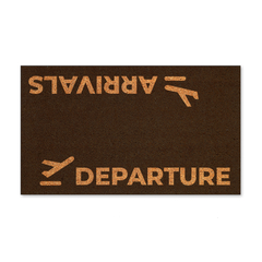 Arrivals / Departure (black)