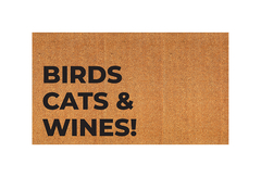 Modelo personalizado - Birds, cats and wine