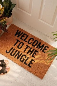 Welcome to the jungle - tapete capacho