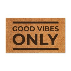 Good Vibes Only - tapete capacho