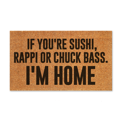 Capacho personalizado - If You're Sushi