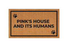 Modelo personalizado - Pink's house and its humans